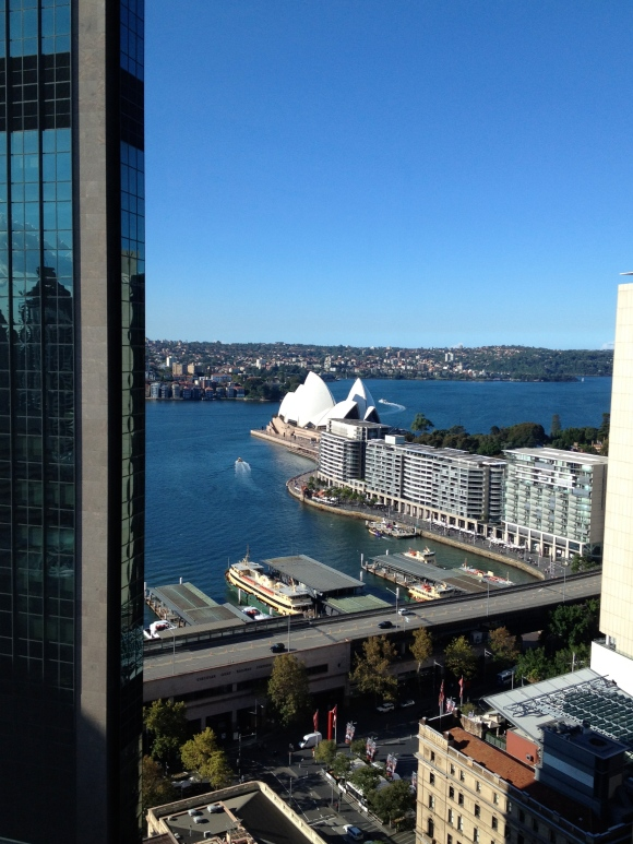 Here's the famous Opera House from my window