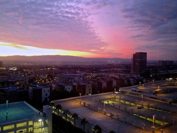 Irvine CA. Sunrise