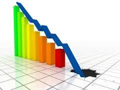 graph - down